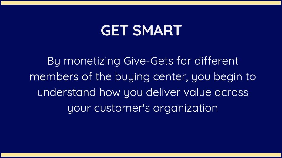 Give Gets landing page graphic